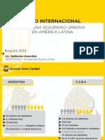 Presentación Buenos Aires - Seguridad