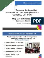 Presentación Lima - Seguridad