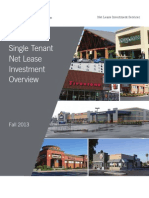 single tenant net lease investment overview - Fixed Operations Director