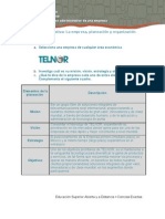 98492198 FA U2 A1 Actividad Formativa La Empresa Planeacion y Organizacion