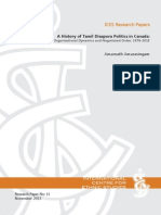 A History of Tamil Diaspora Politics in Canada