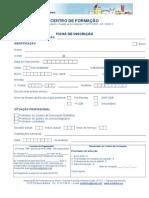 ficha de inscrição APS 2014