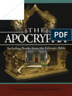 The Apocrypha Including Books From the Ethiopic Bible