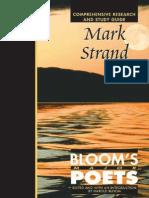 Mark Strand (Bloom's Major Poets)