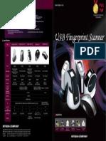 En USB Fingerprint Scanner