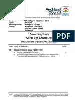 Governing Body Addendum - 12/2013