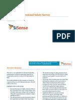 2012 Data Salary Survey