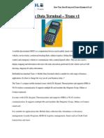 Mobile Data Terminal-Trans V1