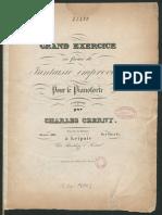 Czerny - 348 - Grande Exercice en Forme de Fantaisie Sm