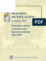 Reporte de Inflacion Setiembre 2013full