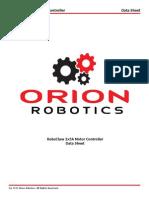 Motor Controller Robo Claw R0403