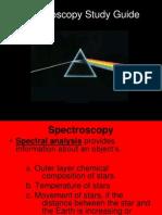 Spectroscopy+Study+Guide