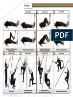 TRX-Übungen für den Unterkörper