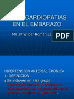 Hta y Cardiopatias en El Embarazo