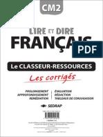 Lire Et Dire Francais
