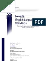 English Language Arts Curriculum Standards