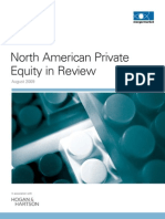 North American Private Equity in Review H109