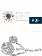 Petal Art Coloring Book