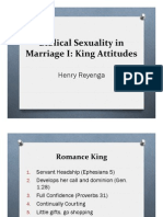 Biblical Sexuality in Marriage I[1]