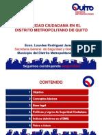 Presentación Quito - Seguridad