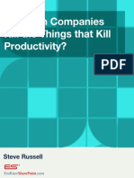 e Book Kill the Things That Kill Productivity