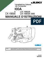 Travette LK1900A Manuale Istruzioni Italiano