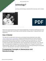 What is Nanotechnology_ _ Nano