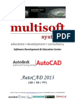 6 months project based AutoCAD training Delhi