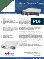 SA2U-24 Datasheet Rugged Rackmount RAID Disk Storage