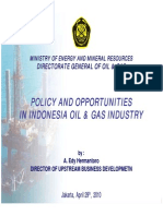Policy and Opportunities in Indonesia Oil and Gas Industry 16