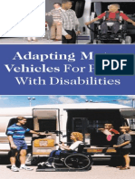 Adapting Motor Vehicles for People With Disabilities