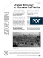 Advanced Technology and Alternative Fuel Vehicles