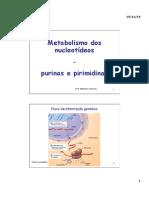 MetaboPurinasPirimidinas BioqF SC
