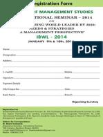 Vns Registration Form