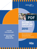 Buying a Safer Car for Child Passengers - A Guide for Parents