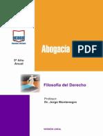 5o Ano - Filosofia Del Derecho Sal, V.mar, Neuq, Juj, Ctes, Neco, b.b