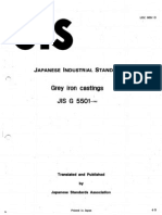 JIS G5501-1995 Gray Iron Castings