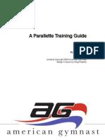Parallettes-Trainingsanleitung