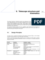 Telescope Structure and Kinematics