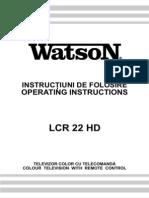 Watson Lcr22hd