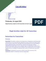 AR Single Insert Document