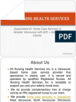 All Nursing Health Services Inc is a Vancouver