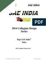 2014 Baja SAE India Rules 131103