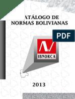 Catalogodenormas2013 Bolivia