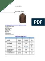 yarn price list of sweater yarn 18 01 2012