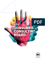 Consumer Consulting Board Book