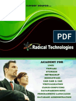 Brochure Radical Technologies