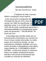 Homosssexualismo
