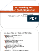 Cognitive Radio Survey