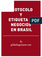 PROTOCOLO EMPRESARIAL EN BRASIL